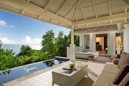 Intendence Bay ved Banyan Tree Seychelles
